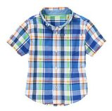 Plaid Kids Boy's vérifié T-Shirt Kid l'usure