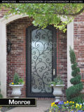 Únicas portas do ferro por atacado com vidro Tempered