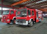La marca japonesa de alta calidad en 4X2 Ftr Water-Foam camión contra incendios con una potente bomba de fuego