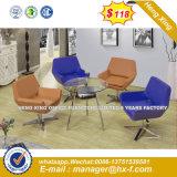현대 강철 금속 기초 직물 실내 장식품 여가 의자 (HX-sn8018)