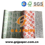 papel impresso 25*35cm do sanduíche do magnésio para empacotar