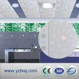 木製デザイン平らなPVC天井は天井板に乗る
