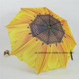 حرارة إنتقال يشبع زهرة طباعة مستقيمة هبة مظلة ([يسك0018])