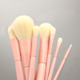 9pcs maquillage cosmétiques Brosse réglée avec le cas de la poignée de gradient