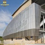 Placas de alumínio da fachada da parede de cortina da decoração de Keenhai