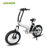 Bicicleta eléctrica plegable de 20 pulgadas 48V 500W E-bici plegable bicicleta eléctrica de la grasa