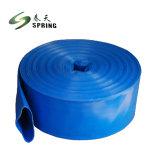 Flexible de PVC de alta presión de agua de manguera plana laicos