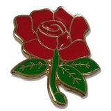 Venda por grosso de Amor Metal Dourado Red Rose emblema das Flores