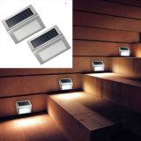 Lumière solaire légère des escaliers solaires monocristallins DEL de silicium