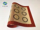 Retângulo Non-Stick Tapete de cozedura de silicone resistente ao calor