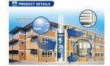 Tambour en verre acide adhésif de la puate d'étanchéité 300ml Cartridge&Big de silicones