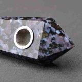 Tubo que fuma material natural del tubo de la mano del alabastro del tubo de la mano que fuma