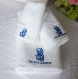 Embroideriedのロゴの昇進のホテル/ホーム100%年の綿浜/浴室/表面/手タオル