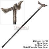 Cana-de-cabeça Phoenix Metal Metal espada curta Stick 92cm HK8409