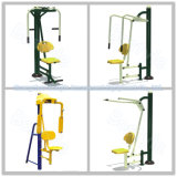 Aptitud al aire libre de acero usada equipo al aire libre barato al aire libre del parque de la aptitud de los adultos de la gimnasia