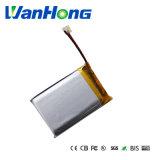 batteria del Li-Polimero di 103450pl 1500mAh 3.7V per i prodotti di Digitahi