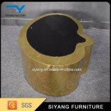 Tavolino da salotto cinese dell'acciaio inossidabile dell'oro della mobilia