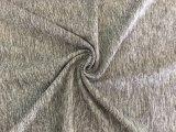 Tela gris del Spandex del poliester del cáñamo para la ropa de deportes (HD2203465)