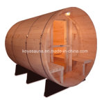 20 der Fabrik-rote Zeder-Sauna-Zylinder-im Freienjahre Sauna-Rrom