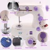Máquina de costura portátil elétrica de preço de fábrica de China mini para o agregado familiar (FHSM-339)