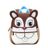 Los niños Mochila impermeable, Arte Digital 3D de los niños pequeños dibujos animados Cute Zoo Los niños preescolares Infante School Book bolsas mochila de niño