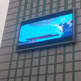 La publicité P8 écran LED de plein air pour station de chemin de fer