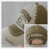 (LW15028) Kundenspezifischer Stein gewaschene Baumwollschutzkappe