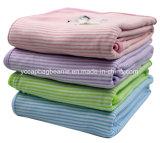 100%年の綿の羊毛の赤ん坊毛布