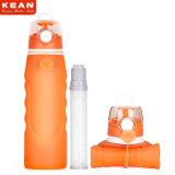 Bottiglia di acqua leggera a perfetta tenuta brandnew del silicone con il filtro