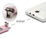 HD Memery für iPhone OTG 2.0 3 in 1 USB-Blitz-Laufwerk