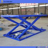 Высокое качество Стационарный гидравлический подъемный стол ножничного типа платформы