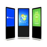 Großes Totem 65 Zoll Screen-DigitalSignage LCD-Bildschirmanzeige-Kiosk bekanntmachend