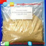 CAS 855-19-6のテストステロンのステロイドのClostebolのアセテート(Turinabol; 4-Chlorotestosteroneアセテート)