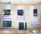 Биометрические время и посещаемость фингерпринта с TCP/IP (SOTA710C)