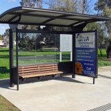 El autobús solar de aluminio de la venta caliente de encargo para el diseño del refugio