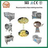 Fresco semiautomática papas fritas y de la línea de procesamiento de los chips Canssava
