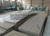 Feuilles d'acier inoxydable utilisées dans des matériels chimiques