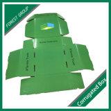 Pattini del cartone di disegno di colore che impaccano casella