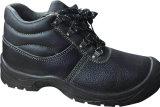 中国の工場安全靴の製造業者、汚れ鋼鉄つま先の帽子の革安全靴、強いデザイン安全靴