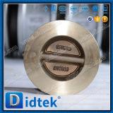 Didtek 30 лет задерживающего клапана бронзы вафли плиты изготовления клапана двойного