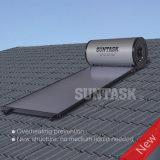 Calentador de agua solar a presión con el colector solar de la placa plana