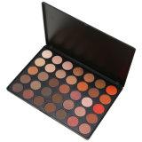 35 Mate Color pigmentado Eyeshadow cálida paleta de sombra de ojos maquillaje juego de la naturaleza