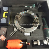 Od는 거치했다, 압축 공기를 넣은 모터 (SFM0814P)를 가진 관 절단 그리고 경사지는 기계