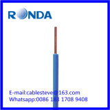 Fio elétrico contínuo 1.5 SQMM do PVC de H07V-U