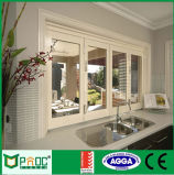 Pnoc080916ls pliage en verre dépoli fenêtre avec un bon prix