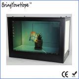 19 Zoll-Anzeigen-Spieler-transparenter Bildschirmanzeige-Schaukasten (XH-DPF-190C)