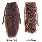 毛の拡張ポニーテール(PPG-l-0656)の人間の毛髪クリップ