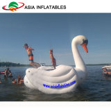 새로운 디자인 물 Towable 백조 Trampoline, 물 잠바 동물성 모양 Trampoline