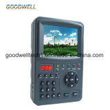 "Ordinateur portable professionnel 3,5"" Soutien Finder satellite DVB-S/S2, Test de signal MPEG-3/4"