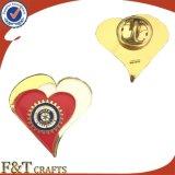 El emblema de metal mayorista personalizado insignia de solapa regalo de promoción Logo esmalte